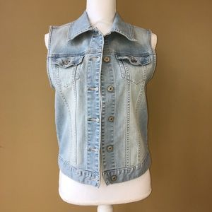 Just USA (Stitch Fix) NWOT Denim Vest
